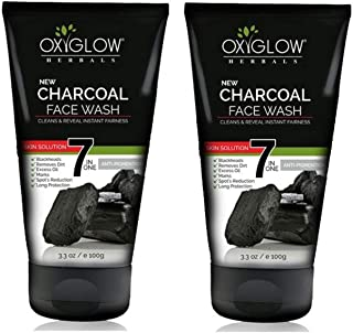 Oxyglow 7 in One Anti Pigmentation Charcoal Face Wash, 100 g (Pack of 2)