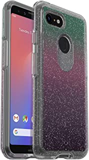 OtterBox Symmetry Clear Series Case for Google Pixel 3 - Retail Packaging - Gradient Energy (Silver Flake/Clear/Gradient Energy)