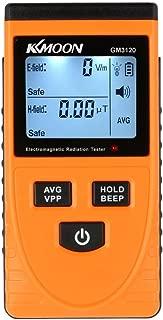 Digital LCD Detector de Radiación Electromagnética Medidor