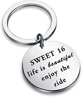 Worst guy but cute  Father/'s day 2020 Key ring Sweet 16 New Driver Young Adult Sixteen Years Old Got Keys Cool  Personalized Custom Message