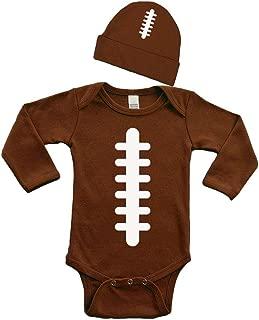 Football Baby Bodysuit Set