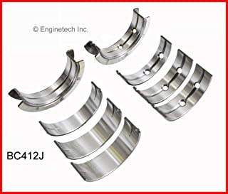 SIZE:020 compatible with 1966-1991 JEEP AMC 290 304 343 360 390 401 ENGINETECH BC329J020 MAIN BEARINGS