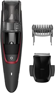 Philips Series 7000 Corded/Cordless Vacuum Beard Trimmer with High Performance Vacuum System, 0.5mm Precision Settings and...