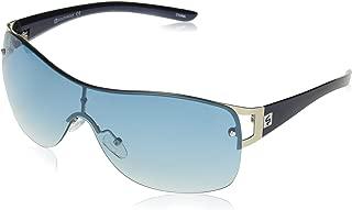 Men's 5029sp Slvbl Non-polarized Iridium Shield Sunglasses, Silver/Blue, 155 mm