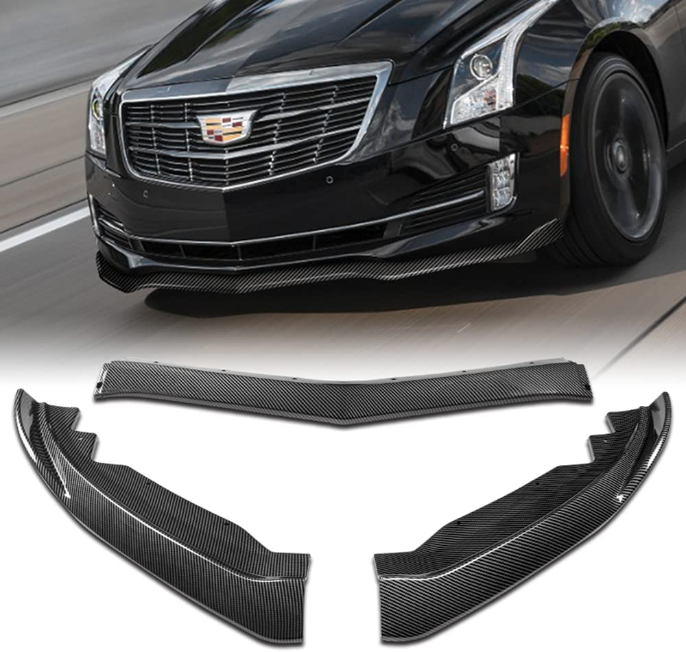 Q1-TECH 3-Piece Front Bumper Lip with fit 2015-2 compatible for Free It is very popular Shipping Cheap Bargain Gift