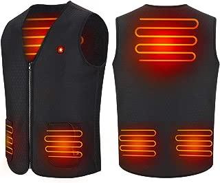 Chaleco de mujer con calefacción USB, Chaqueta térmica de