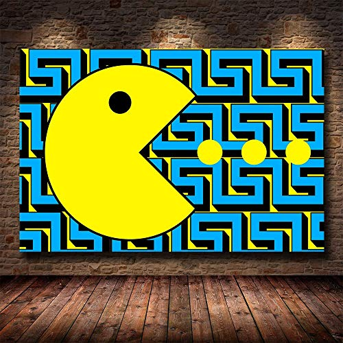 fancjj jigsaw puzzle 1000 piece-Classic game Pac-Man Entertainment Toys for Adult Special Graduation or Birthday Gift Home Decor50x75cm(20x30inch)