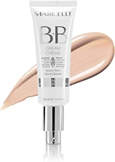 Marcelle BB Cream Beauty Balm, Fair, Hypoallergenic and Fragrance-Free, 45 mL