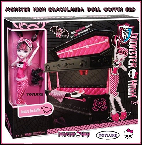 MONSTER HIGH-DRACULAURA LIT ET POUPÉE