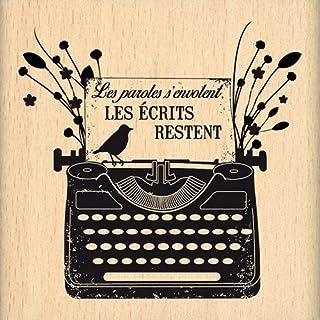 ورق سجل القصاصات fe115031 بتصميم Florilèges مقاس 7 × 7 × 2.5 سم أسود