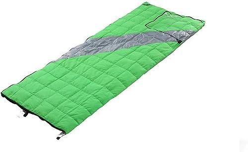 Xin.S Portable Sac De Couchage En Duvet Avec Sac De Compression Imperméable à L'eau Légère Camping De L'enveloppe Voyage Ou Extérieur