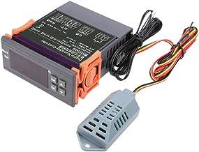 alftek 12V/24V/110V/220V Digital Controlador de Humedad del Aire Wh8040Rango 1% ~ 99%