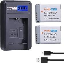 canon g7x ii battery life