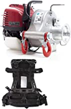 Portable Winch PCW3000 Gas-Powered Capstan Pulling Winch with PCA-0104 Molded Backpack (Bundle, 2 Items)