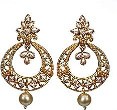 قرط بريني مصمم من الماس الأمريكي للنساء