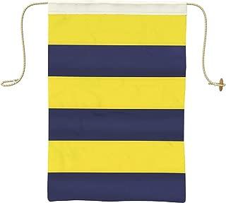 Ships Chandlery Letter G Nautical Signal Flag - G Alphabet Maritime Flag Decoration; 19.50