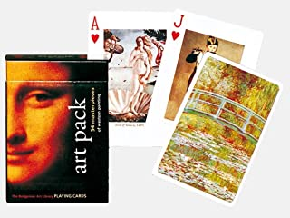 Piatnik Art Pack Single Deck Playing Cards (Set of 52 Cards)