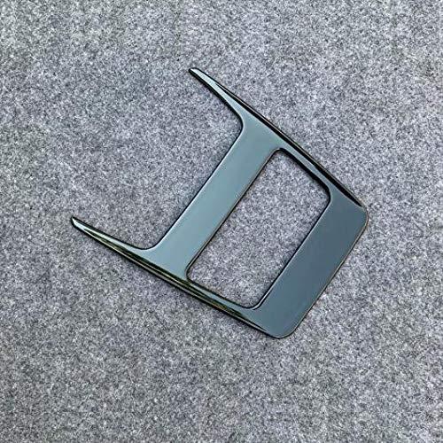 AL 1ピース ABS 光沢ブラック インテリア フロント リード ライト ランプ カバー トリム 対応車種: トヨタ ハリアー ヴェンザ XU80 2020 AL-LL-1573