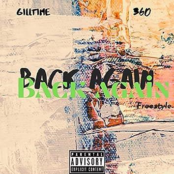 Back again freestyle