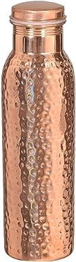 Cobre martillado con estilo Q7 botella conjunta entre esa provincia con Ayurvedic beneficiado 100% puro y prueba de fugas bot