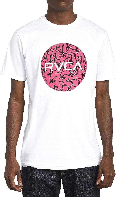 RVCA Men's Motors Fill Short Sleeve Crew Neck T-Shirt