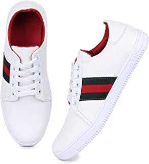 8e3e1bc5e84f02 White Men's Sneakers: Buy White Men's Sneakers online at best prices ...