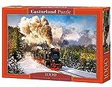 Castorland C-103409 - Treno a Vapore - Puzzle 1000 Pezzi