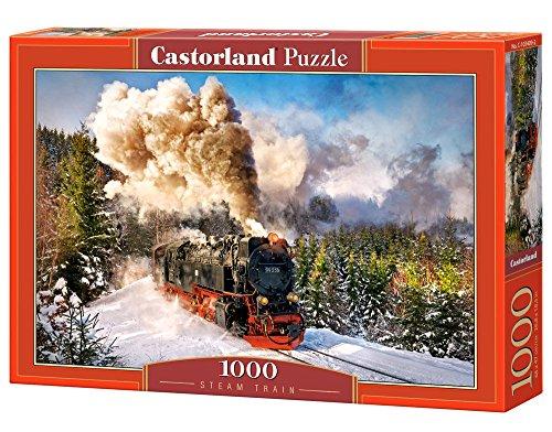 Castorland C-103409-2 - Steam Train, Puzzle 1000 teilig