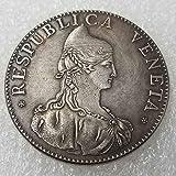 YunBest 1756 Italia Dólares de Plata - Italia Moneda Conmemorativa - Italia Moneda Vieja-Gran Herramienta de Enseñanza para niños-Es artesanía hecha a mano BestShop