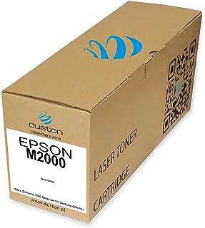M2000 - Tóner Compatible con Epson 2000, Color Negro