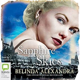 Sapphire Skies audiobook cover art