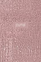 Journal: Elegant Rose Gold 120 Page 6