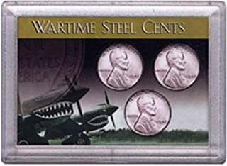 1943 wartime steel cents