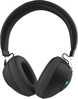 (Renewed) Zebronics Zeb-Duke Bluetooth Headphone with Voice Assistant Support, Multifunction Button, AUX Input and RGB Lig...