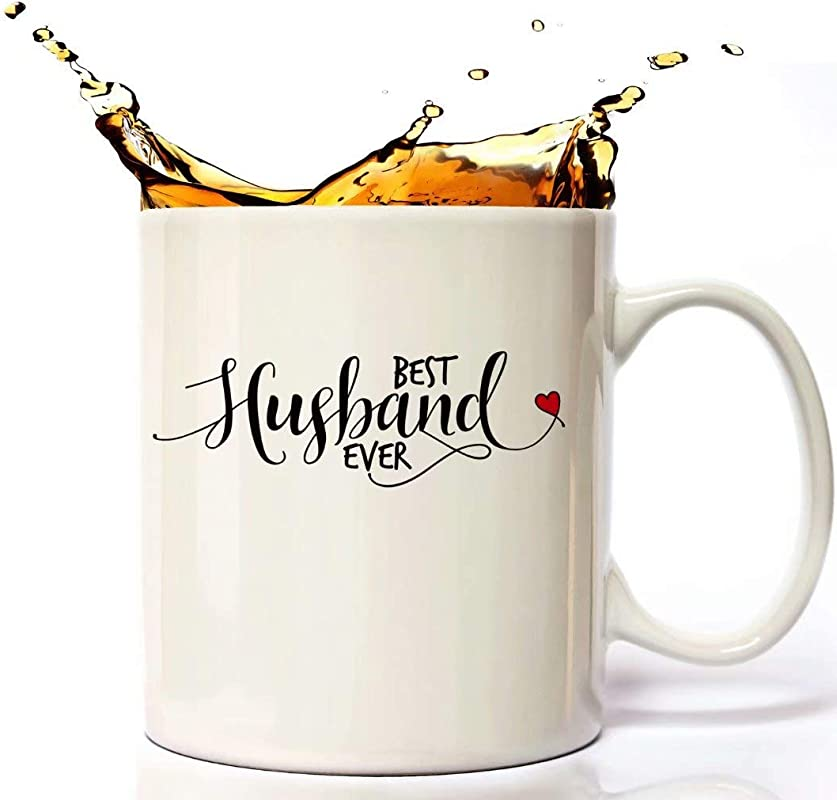 Best Husband Ever Personalized Coffee Mug For Men Husband Birthday Or Anniversary Gift Ideas Perfect Gift Idea For Father S Day Christmas Unique Statement Mug Presents For Awesome Daddy