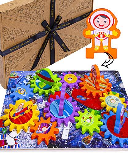 Jaques de Londres juguemos Rompecabezas del Planeta - Excepcional Rompecabezas Espacial Juguetes para 2 3 4 años de Edad niños Rompecabezas Rompecabezas , Juguetes de Madera y Juegos Desde 1795