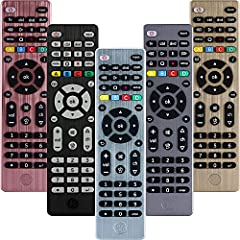 MULTI DEVICE CONTROL – Operate up to 4 different audio and video components such as TVs, Blu-Ray/DVD players, cable/satellite receivers, Roku boxes and other streaming media players, sounds bars, and more BEST REMOTE CODE LIBRARY – This universal rem...