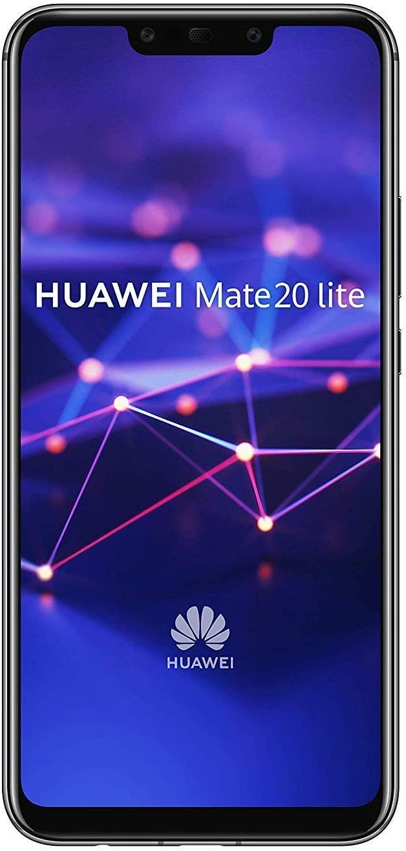 Huawei Mate 20 lite Dual SIM Android 20.20 Smartphone mit Dual Kamera, black  West European Version