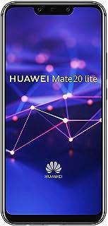 Huawei Mate 20 Lite Hybrid/Dual-SIM 64GB Factory Unlocked 4G Smartphone - International Version (Black)