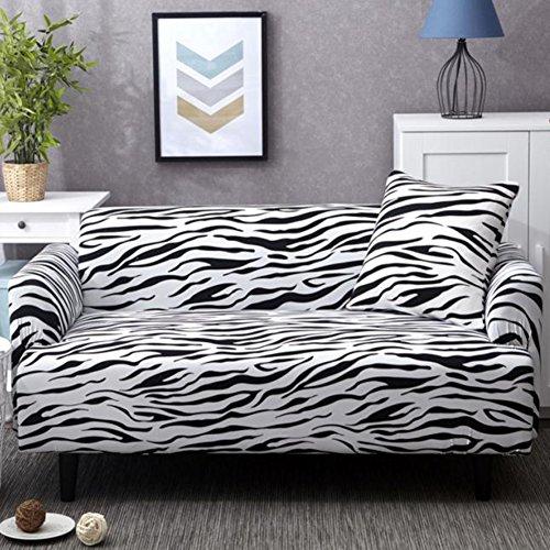 YANGYAYA All-Inclusive- Sofa Decken,Stretch Sofa Decken,Möbel Protector,Volltonfarbe verdicken Couch Cover werfen 1,2,3,4 Kissen abdeckungen-B Three Seats 190-230cm(75inch-90inch)(1PCS)