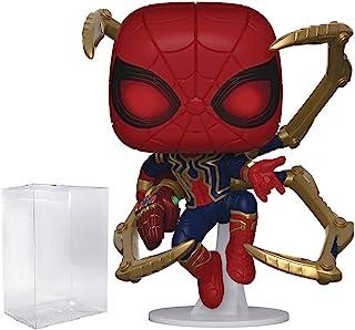 Funko Marvel: Avengers Endgame - Araña de hierro con nano guantelete Pop! Figura de vinilo (incluye funda protectora compatible con caja Pop).