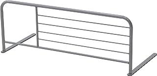 不二貿易 ベッドガード 幅89cm シルバー 転落防止 68892