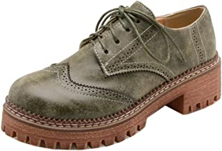 KemeKiss Women Oxford Heels Pumps Shoes