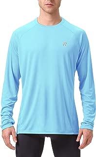 Runhit Long/Short Sleeve Sun UV T-Shirt Mens Workout Running Dri Fit Gym Shirts