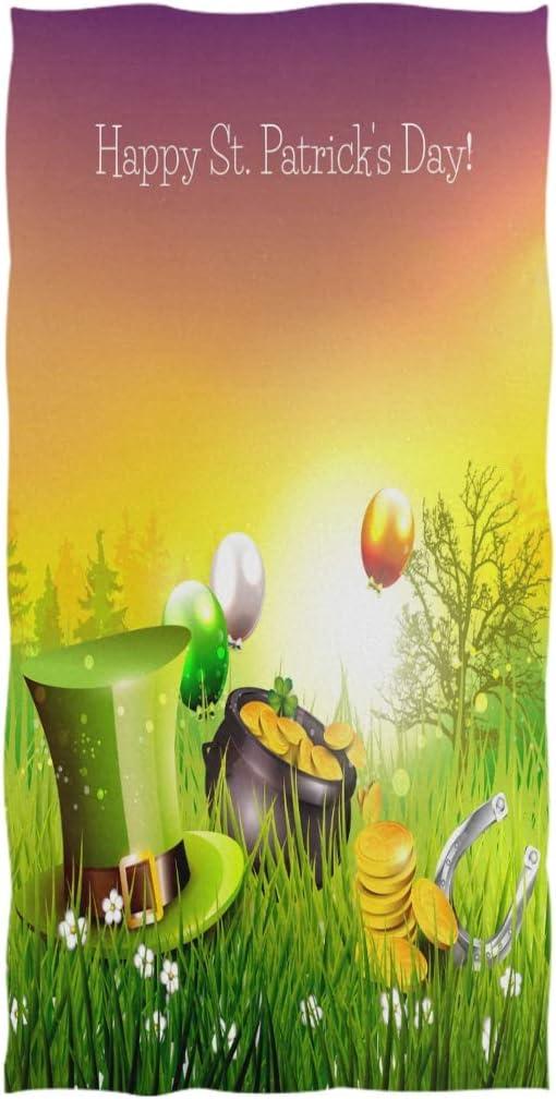 16x30 #####Herz B/äume Naanle weiches Handtuch mit niedlichem Aufdruck Mehrzweck-Handtuch f/ür Badezimmer gro/ßes G/äste-Handtuch Fitnessstudio und Spa Hotel 40,6 x 76,2 cm, Blumenmuster