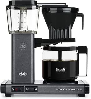 Technivorm Moccamaster 59694 KBG Coffee Brewer, 40 oz, Stone Grey