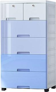 Boîte De Rangement De Tiroirs, Boîte De Rangement En Plastique De L'armoire Au Bas Du Lit, Finition Création De Crevasse C...