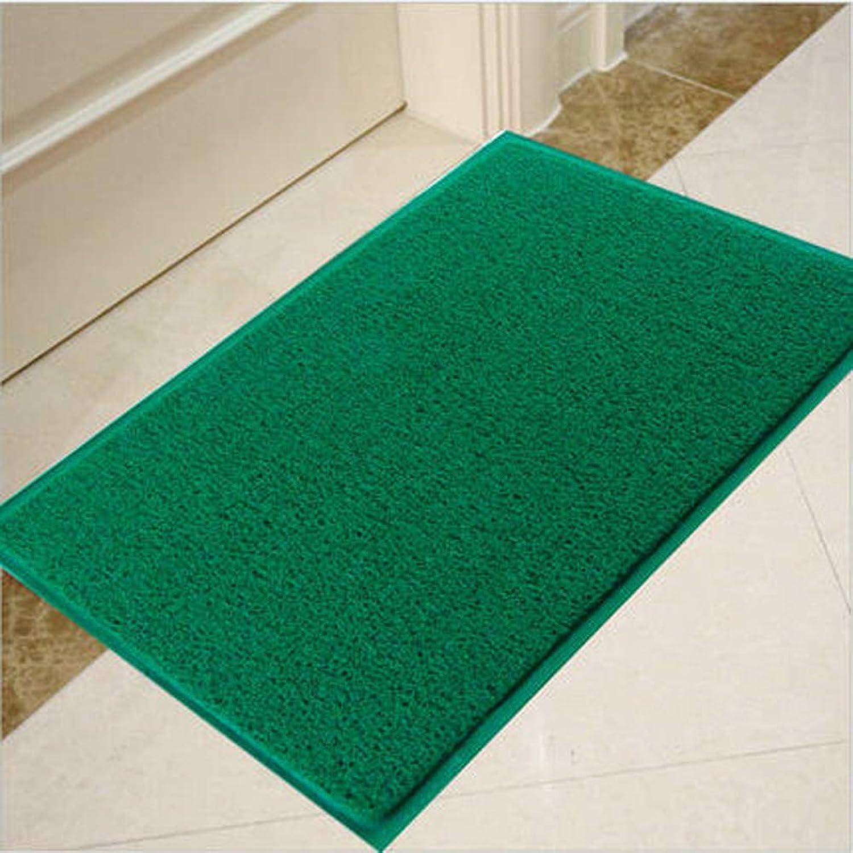 Premium Entry Mat Entrance Floor Mats for Office Indoor Mats for Entryway-Super Absorbs Mud,Fireproof,Dustproof-Green
