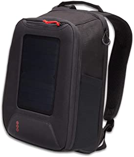 Voltaic Systems - Converter 5 Watt Solar Panel Backpack with Backup Battery Pack - Matte Black   Powers Phones, USB Devices, More   Charge Your Device as Fast as at Home