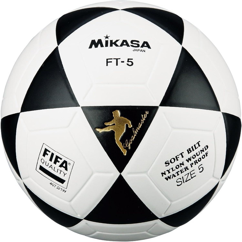 Mikasa FT5 FT5 FT5 Ball, thermogeschweißt, Weiß Blau B00B3EI950  Eleganter Stil 27e2fc